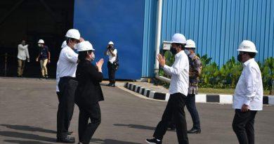 Di Peresmian Pabrik HSM 2 Krakatau Steel, Puan Kenang Jasa Bung Karno