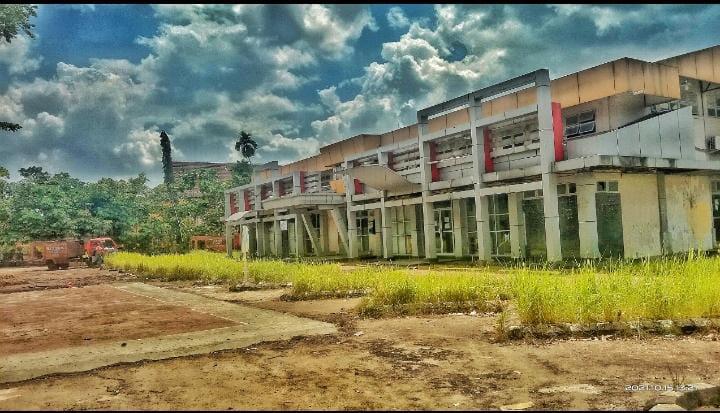 Kondisi Gedung Olahraga Di Inhil Sangat Memprihatinkan